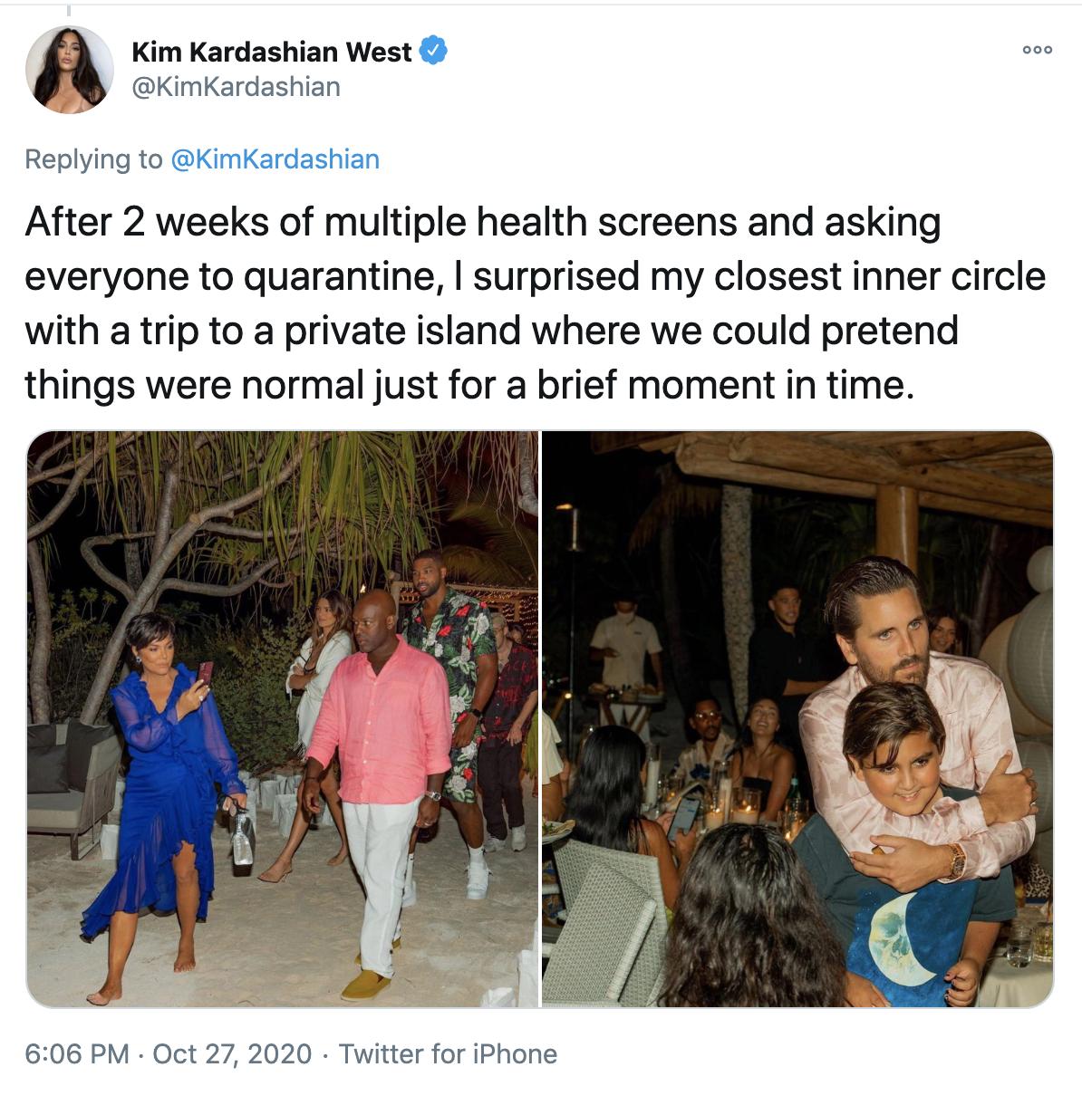 Khloe Kardashian confirms coronavirus diagnosis in Keeping Up with the Kardashians teaser