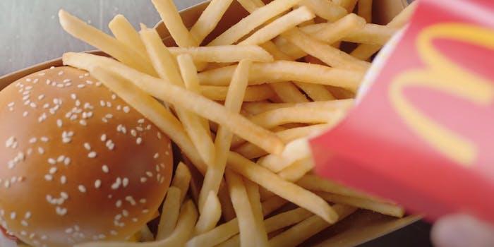 mcdonalds hungry children