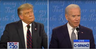 Presidential Election between President Donald Trump and Joe Biden.