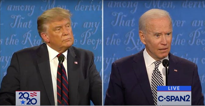 Presidential Election between President Donald Trump and Joe Biden.