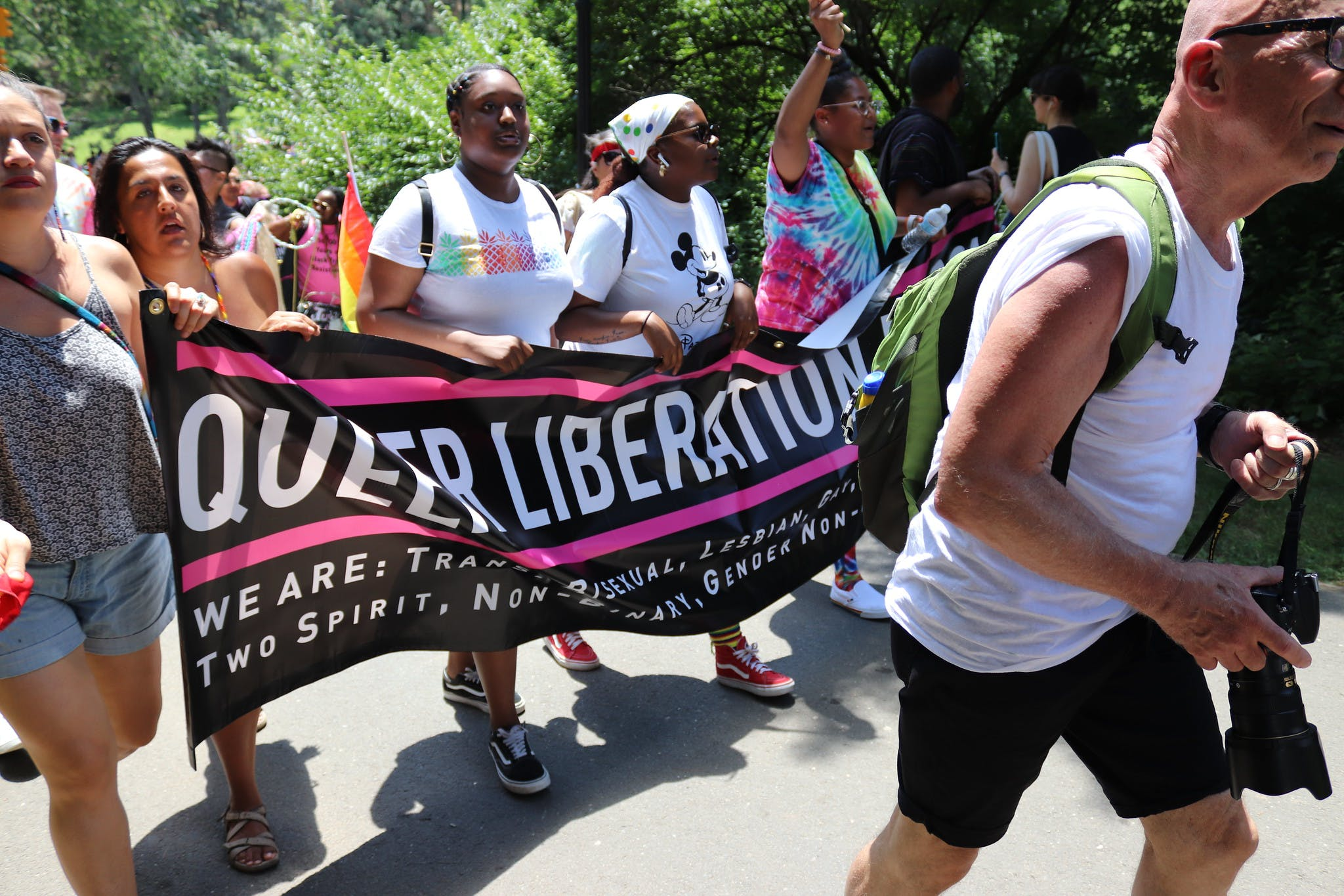 Queer Liberation March Supreme Court