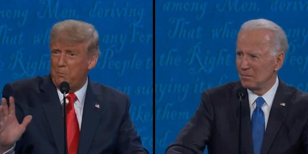 Trump Mocks Families Biden Presidential Debate