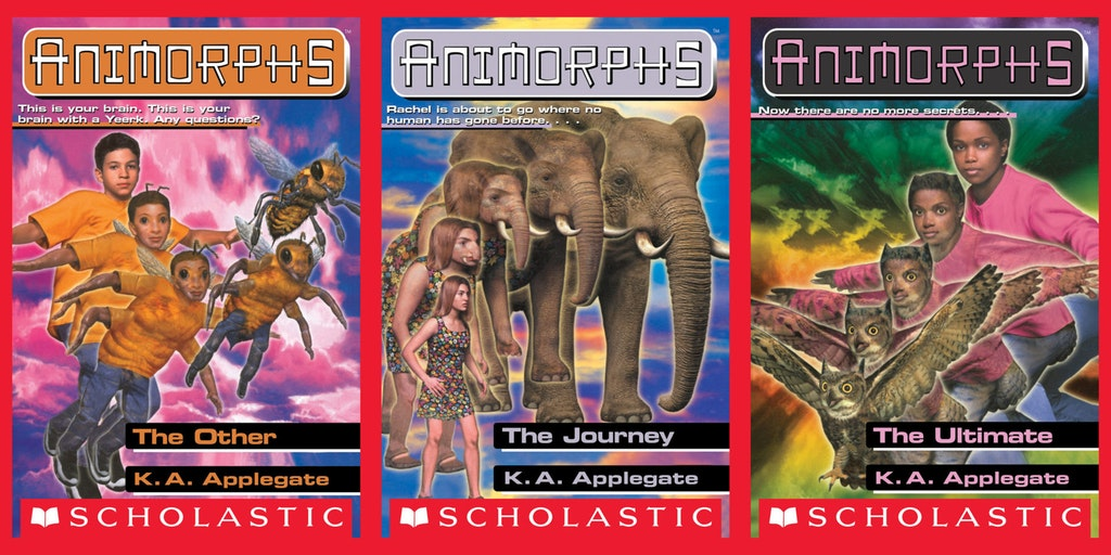 animorphs book covers