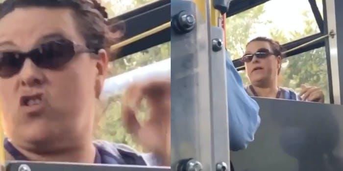 anti-masker bus driver
