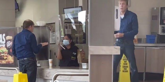 burger king anti-masker