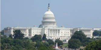 The U.S. Congressional building