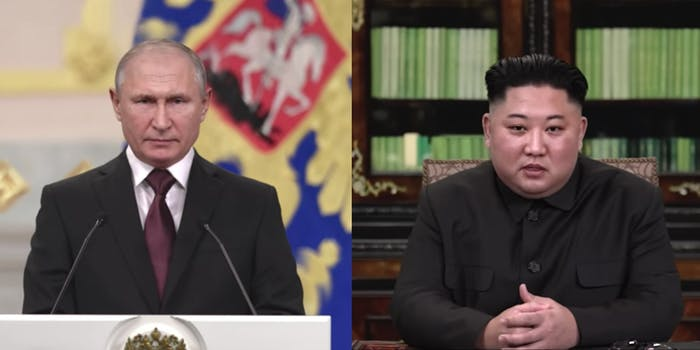 Deepfakes of Putin and Kim Jong Un