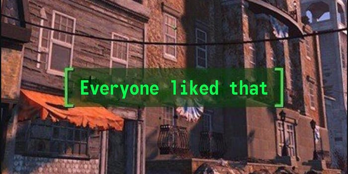Fallout: Everyone liked that meme
