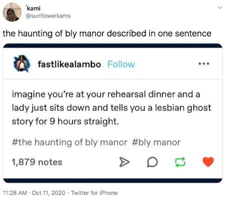 haunting of bly manor tiktok