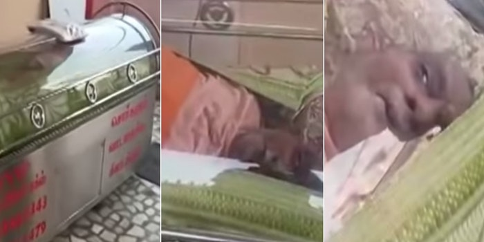 Indian man rescued from freezer after presumed dead