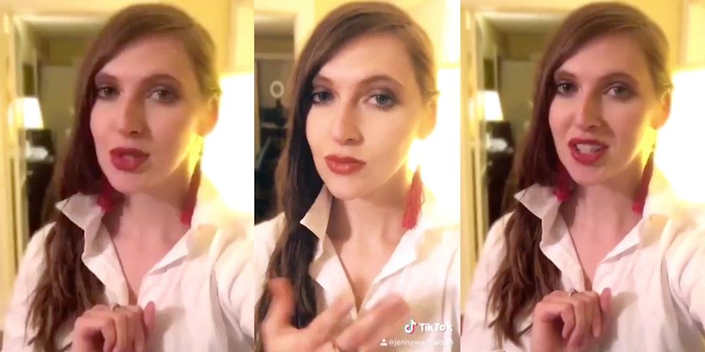 jenna wadsworth trump covid-19 tiktok video