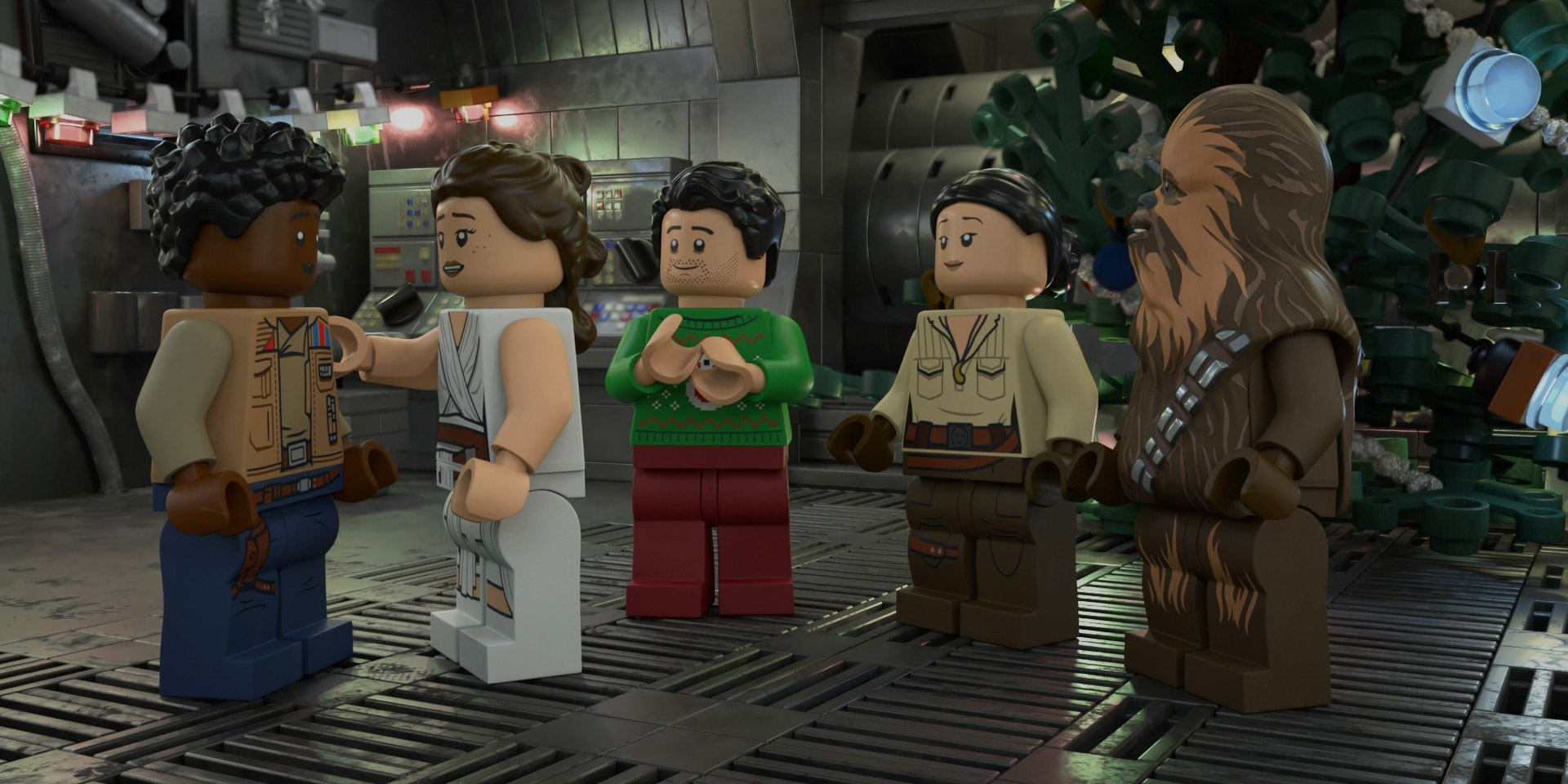 Rose Tico will co-star in the Lego 'Star Wars' Holiday Special