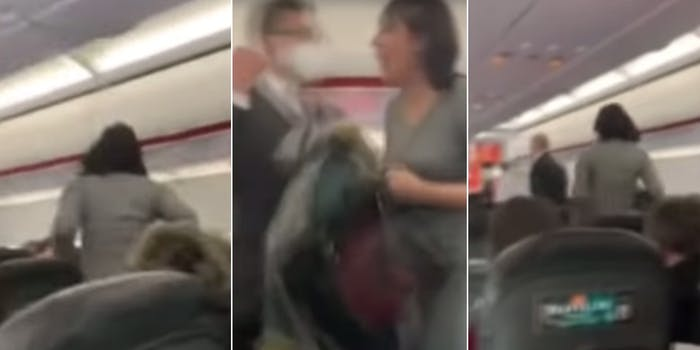 Maskless Karen kicked off flight