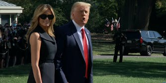 melania trump body double conspiracy returns
