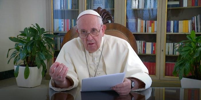 pope francis meme copy