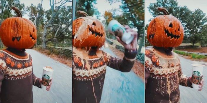 pumpkin head tiktok