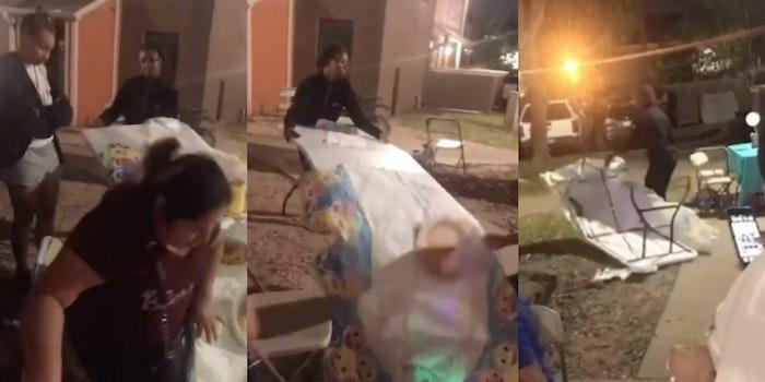 toddler's birthday party destroyed karens