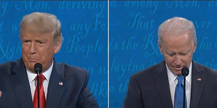 trump low iq presidential debate