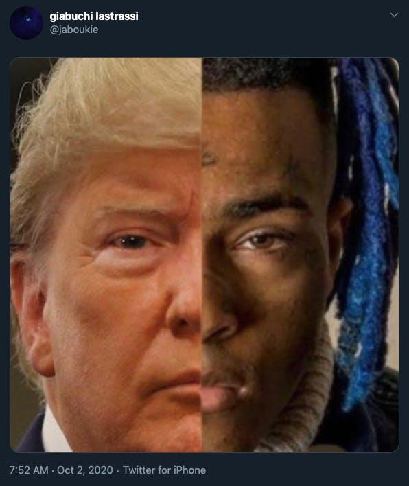 Trump COVID memes XXXTentacion