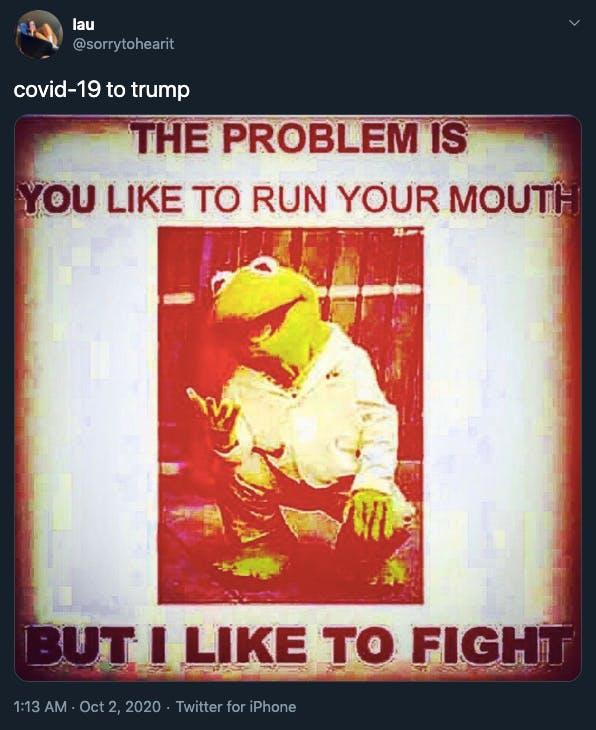 Trump coronavirus memes Kermit