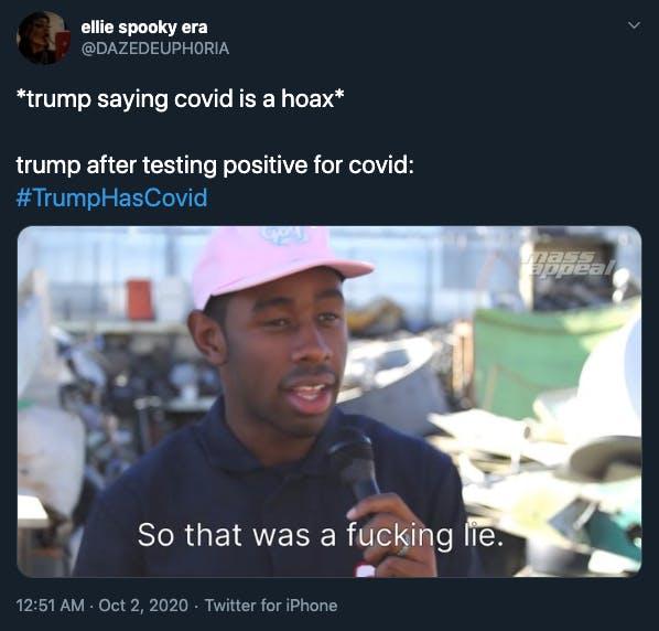 Trump coronavirus memes Tyler the Creator