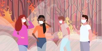 wildfire masks