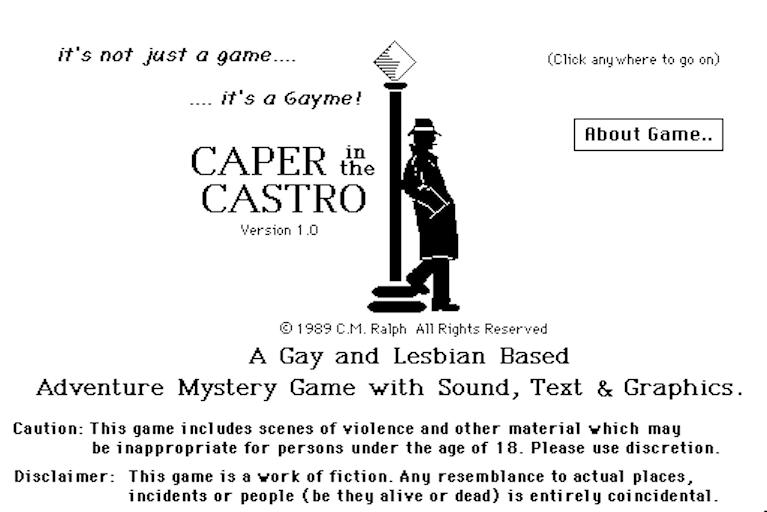 Caper in the Castro