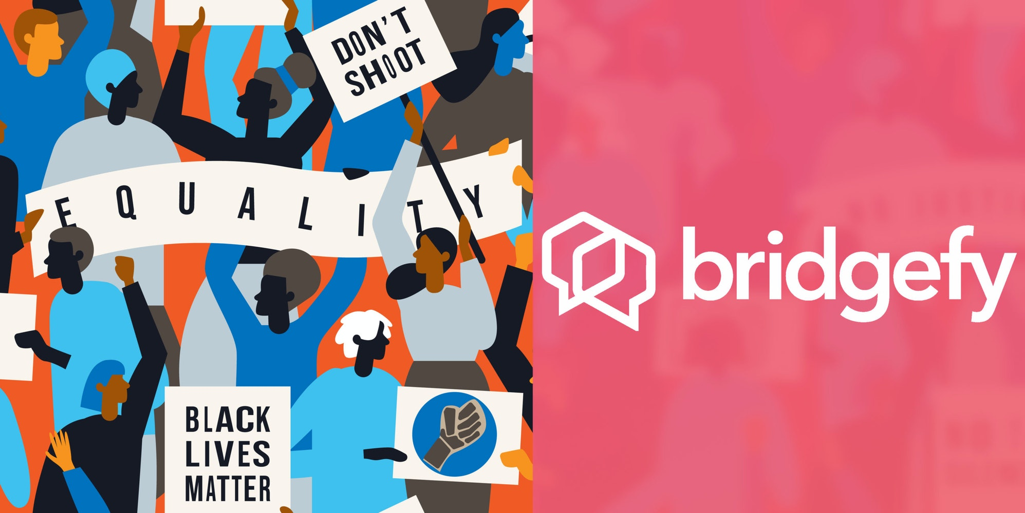 Bridgefy App Protest