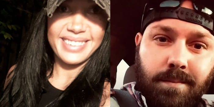 Brittany Correri (L) says Benjamin Fancher (R) brutally assaulted her following a date