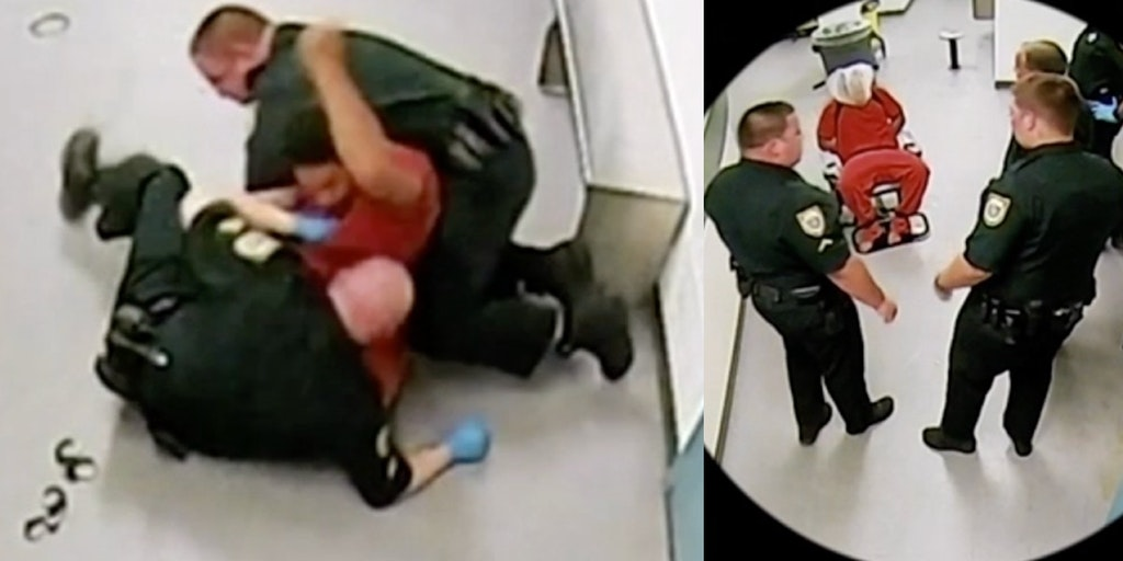 Brevard County Jail officers seen abusing Gregory Lloyd Edwards