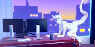 DragonlayerVR VR yiff game furry porn