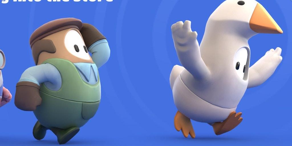 Fall Guys Untitled Goose Game Skin