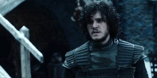 Image of Jon Snow looking perplexed - Snowfall is the perfect Game of Thrones fanfiction if he's your favorite character