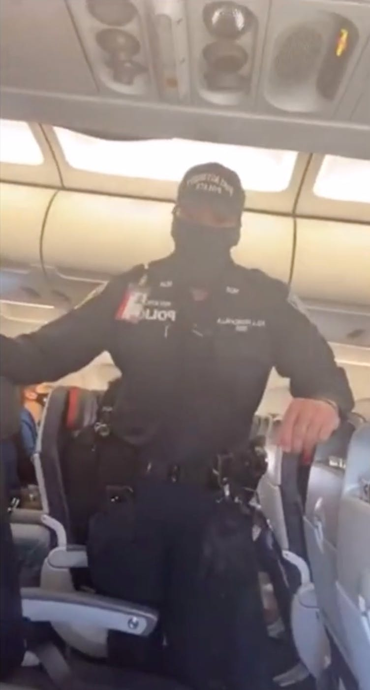 american airlines muslim passenger