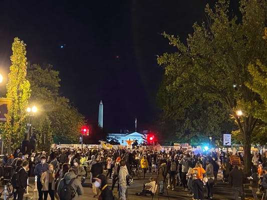 white house election night rally