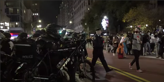 NYPD violently pushes into Black queer lives march