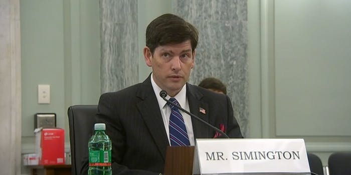 Nathan Simington FCC Senate Hearing
