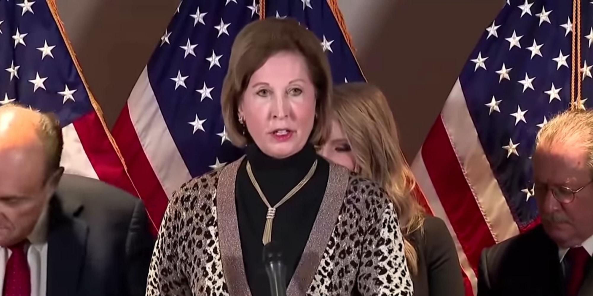 Sidney Powell Misspellings Trump 2020 Election Lawsuit