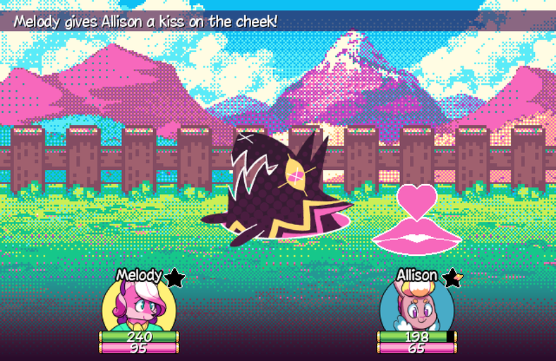 Super Lesbian Animal RPG Lesbian Game