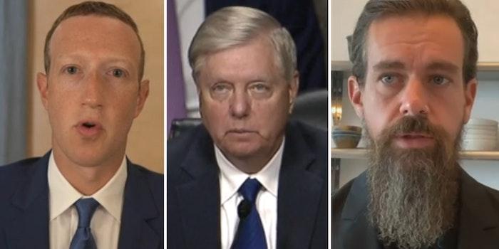 Twitter Facebook Senate Hearing Section 230 Senate Judiciary Committee
