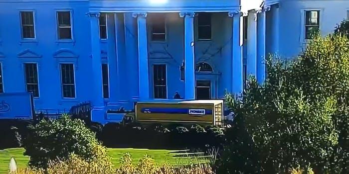 White House moving truck memes