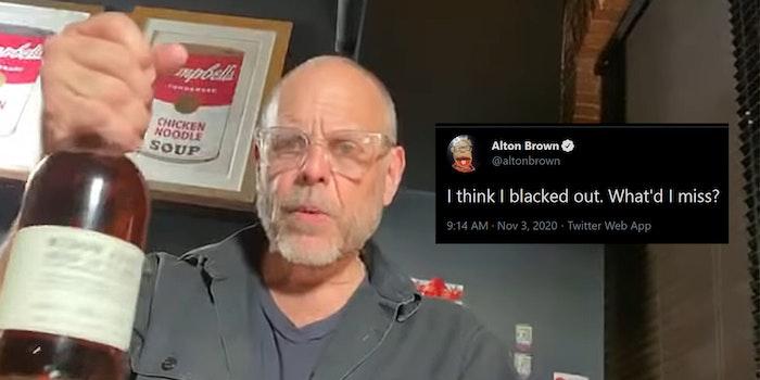 alton brown tweets