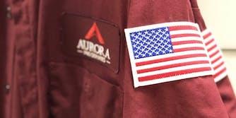 A uniform for Aurora Pro Services