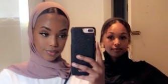 black teen sadia mohamed racist airbnb host