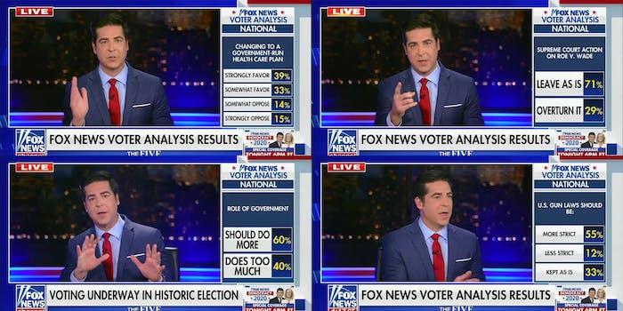 fox news exit polls