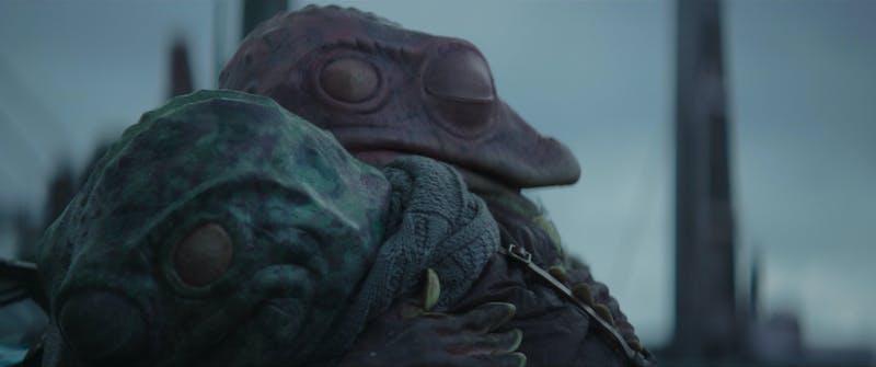 frog man scarf