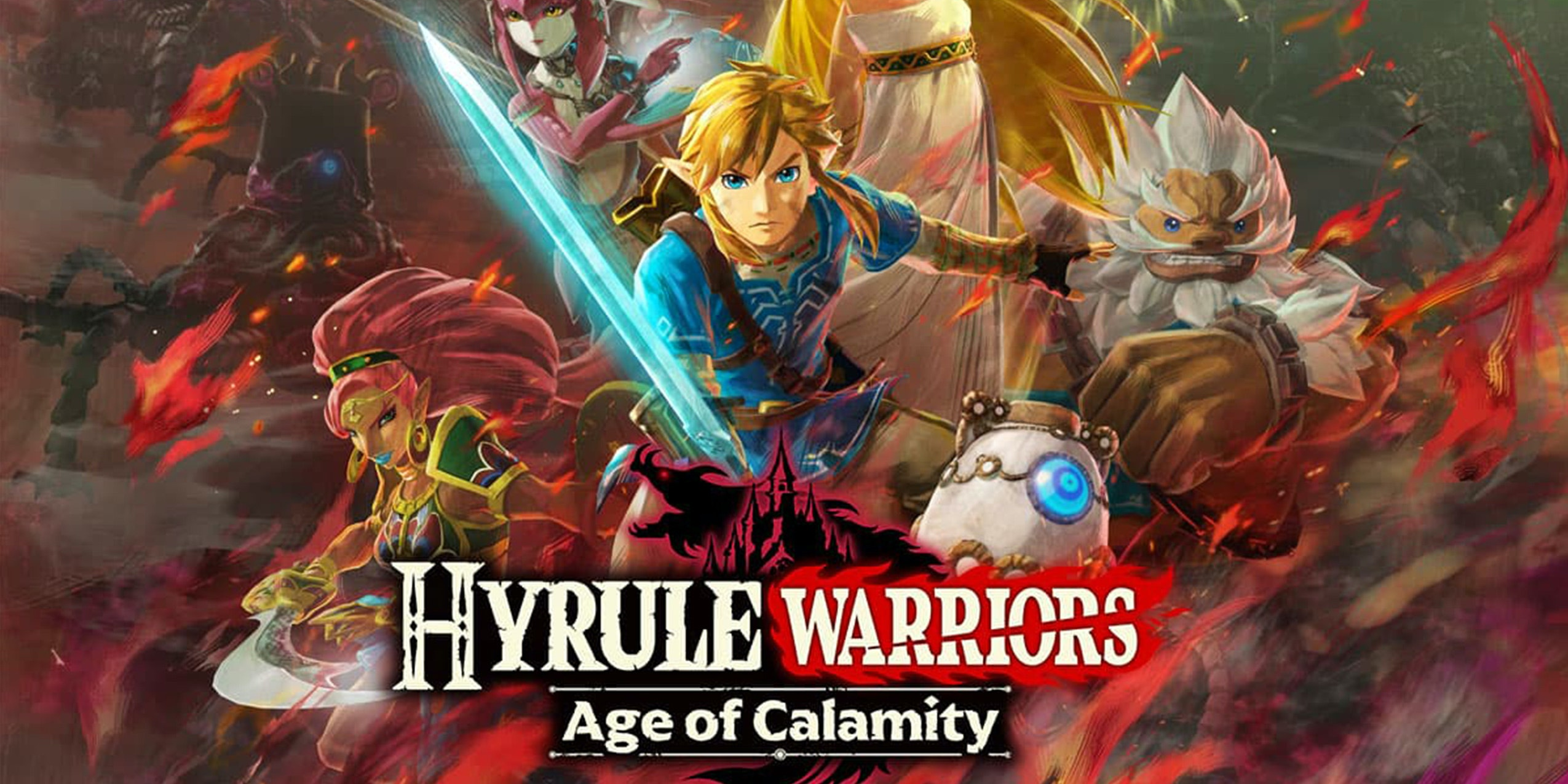 Pre Order Hyrule Warriors Age Of Calamity New Zelda Game