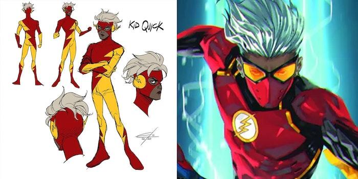 kid quick nonbinary flash