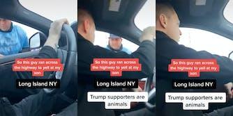 long island voter intimidation trump