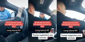 long island voter intimidation trump